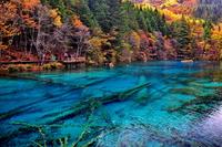 7 самых красочных озер, дарующих жизненную энергию