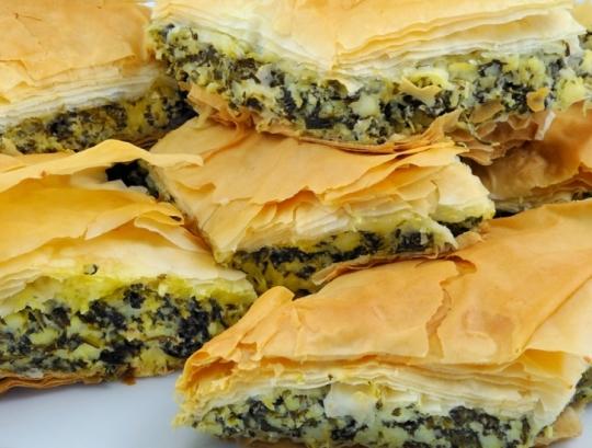 рецепты слоеных пирожков фото