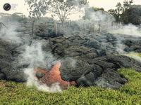 9 снимков залитых лавой Гавайев