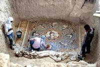 В Турции обнаружены удивительные мозаики 300 года до н.э.