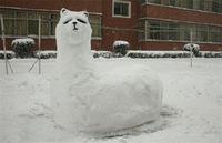 10 лучших снеговиков, сделанных обыкновенными людьми из Японии и Китая