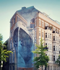 15 шедевров стрит-арта, которые, кажется, вот-вот оживут