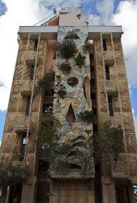 Мало кому посчастливилось увидеть тайную сторону этого необычного дома в Тель-Авиве!