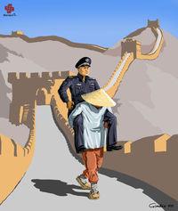 16 невероятно смелых сатирических иллюстраций полицейских из разных стран мира