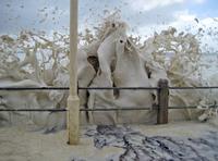 Прибрежный капучино. Красивейший природный феномен!