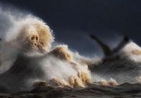 Жидкие горы: 14 ошеломительных снимков разъяренного озера Эри