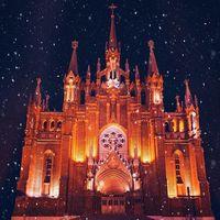 17 нереально красивых снимков, на которых рождественская Москва похожа на сказку