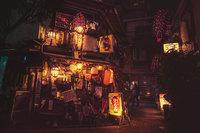 15 волшебных ночных снимков Токио от Масаши Вакуй