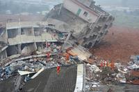 Оползень в Китае — ужасающий результат человеческой ошибки