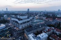 Польша. Варшава с высоты птичьего полета