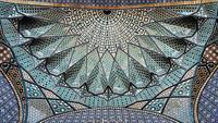 17 снимков потолков иранских мечетей гипнотической красоты