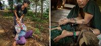 Шокирующие фото жизни пациентов психиатрических больниц в Индонезии