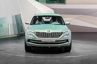 SKODA VisionS: в Женеве представлен концепт нового SUV