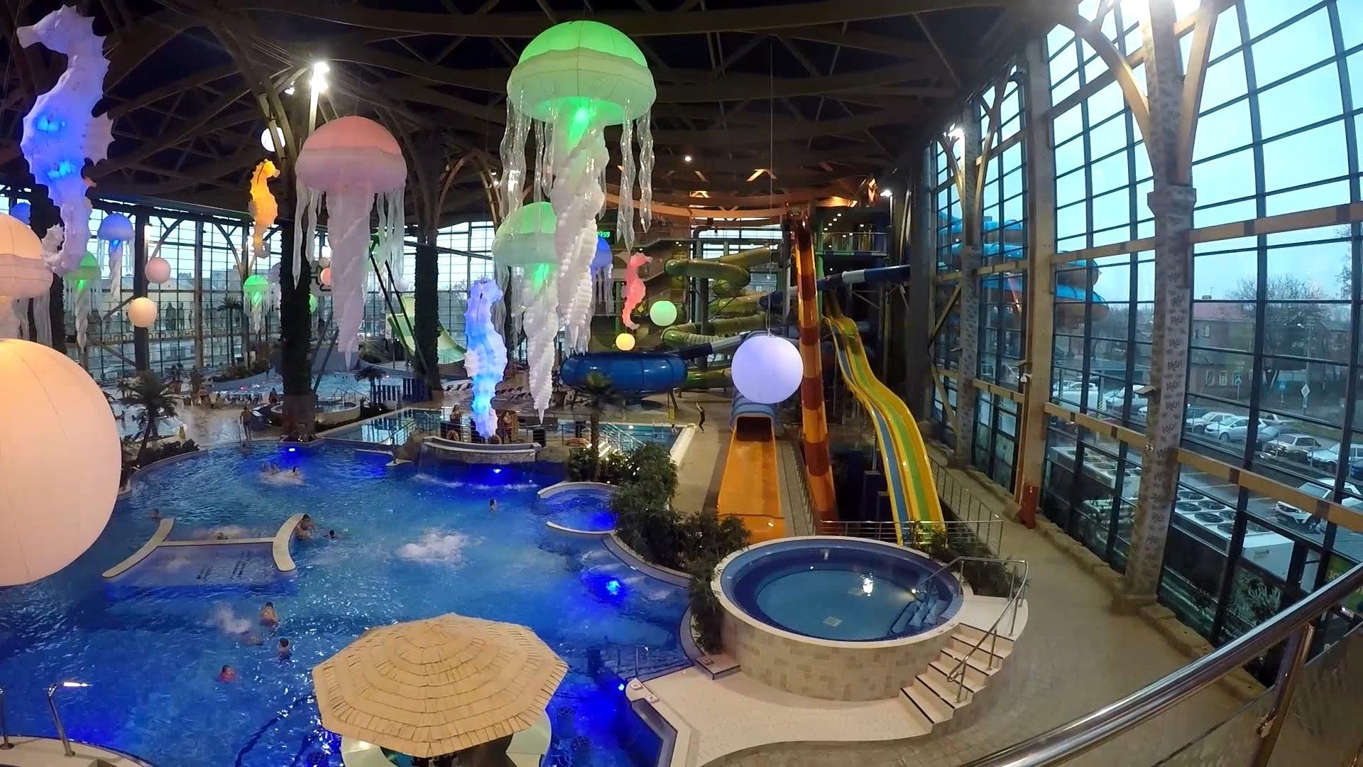 494918bdb231 Аквапарк H2O - зоны аквапарка, бассейны, детский клуб, торговая ...