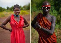Взгляд не оторвать: 6 снимков самых красивых мужчин эфиопского племени боди