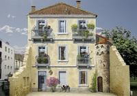 Художник превращает скучные городские стены в яркие, динамические сценки