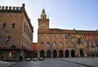 Центральная площадь города Болонья