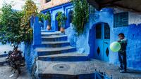 Марокканские сказки: 50 оттенков синего