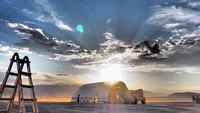 На культовом Burning Man самолет Boeing 747 превратили в самую большую арт-машину в истории