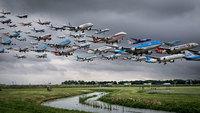 10 невероятных фотографий воздушного трафика с разных уголков мира