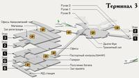 Схема аэропорта имени Бен-Гуриона