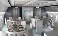 Полет в этом самолете стоит от  $70 000, а пассажиров будут обслуживать личный повар и дворецкий