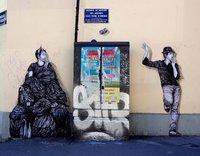 Он покорил мир своими гениальными и ироничными работами на парижских стенах