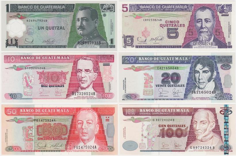 Гватемала Гватемала gtm set1 f