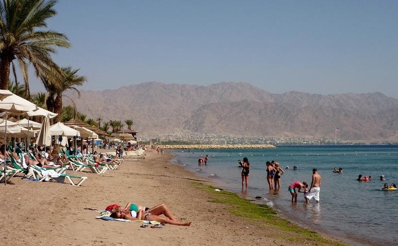 Израиль эйлат пляжный отдых