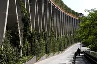 Парк прямо над железной дорогой — урбанистическая революция в Барселоне