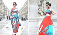 Во что превращают современные японки свои традиционные свадебные кимоно