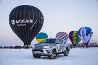 Федор Конюхов и Toyota Hilux: один  полет, два путешественника, три  рекорда
