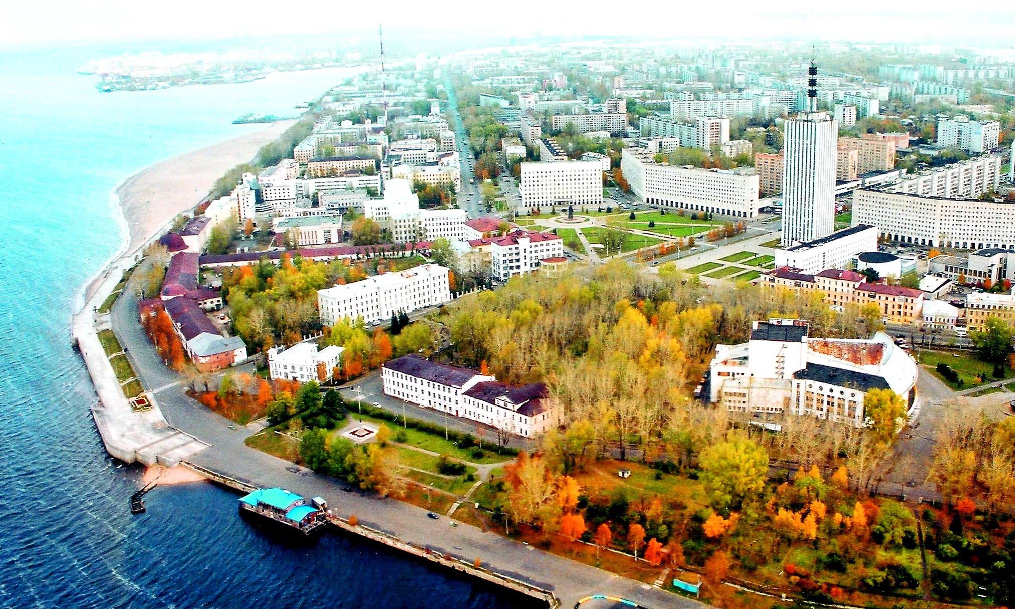 Расстояние от Архангельска до Ейска