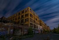Американские города-призраки в ночных фотографиях Ноэля Кернса