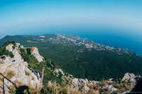 Крым: гора Ай-Петри и подвесные мосты