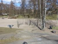 Обычная необычная детская площадка в Хельсинки