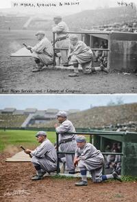 10 ценных ретрофотографий о том, как в США играли в бейсбол 100 лет назад