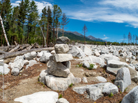 Каменная река: трагедия в Аршане