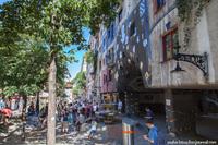 Диалог с природой: биоморфный дом Хундертвассера в Вене