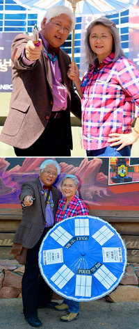 Пожилая пара из США прославилась на весь мир, примерив легендарные кинообразы