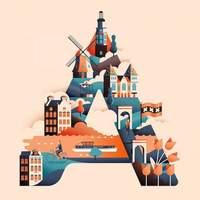 10 разнообразных великолепных произведений искусства, вдохновленных путешествиями