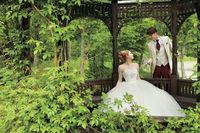 Японская компания и Disney создали уникальные свадебные платья для принцесс