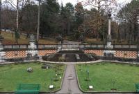 Массандровский дворец в Ялте в конце октября