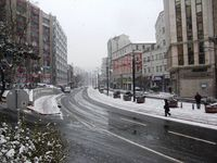 Район Султанахмет. Зима в разгаре.