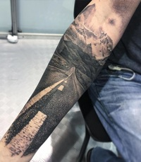 20 крутых тревел-татуировок, которые вдохновляют на новые путешествия