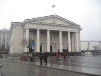 Вильнюсская ратуша, ноябрь 2017