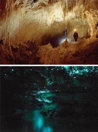 Уникальные места на Земле, которые светятся ночью