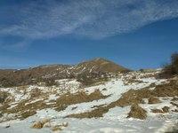 Горные склоны в Кахетии