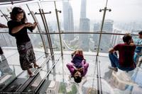Шанхай с высоты и самый красивый перекресток в мире