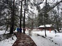 Лыжные базы в феврале в Китае переполнены отдыхающими